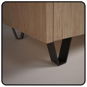 nowoczesna nóżka meblowa, nóżka stalowa, noga do stołu, nogi meblowe, podstawy do mebli, nóżki kolorowe